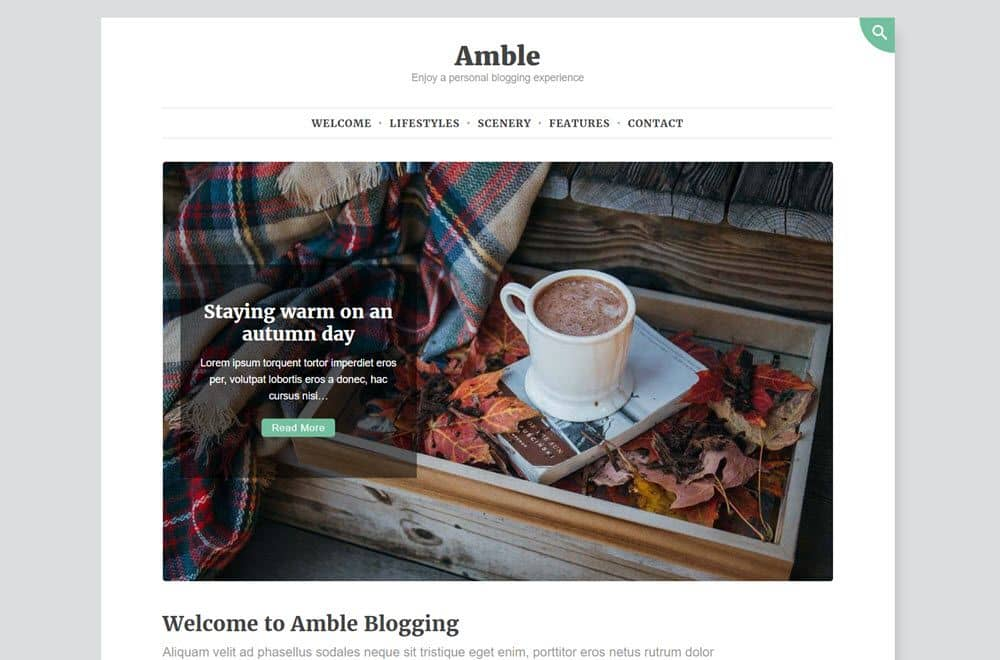 Amble featured post