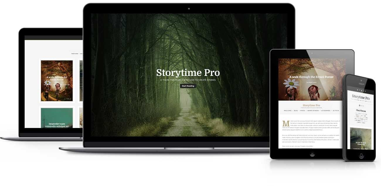 Storytime WordPress theme