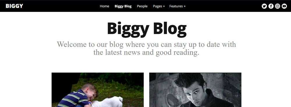 Biggy blog intro
