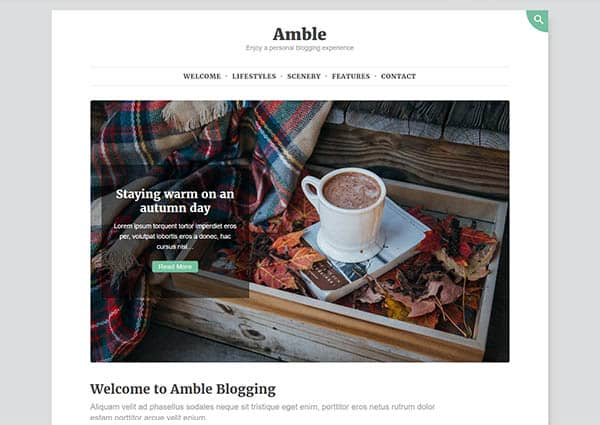 Amble introduction