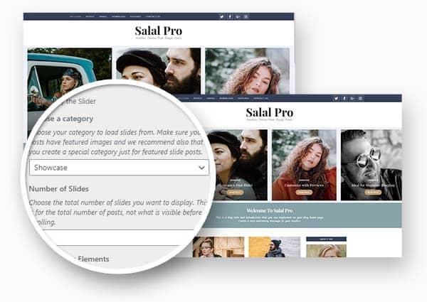 Salal post slideshow