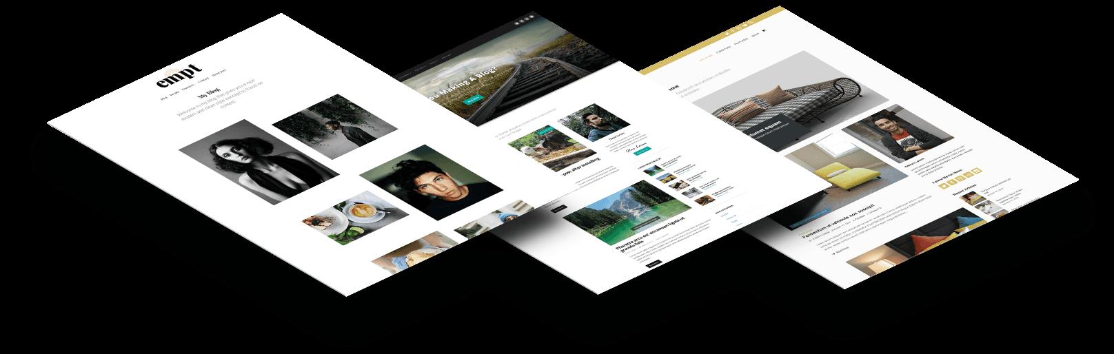 WordPress themes banner