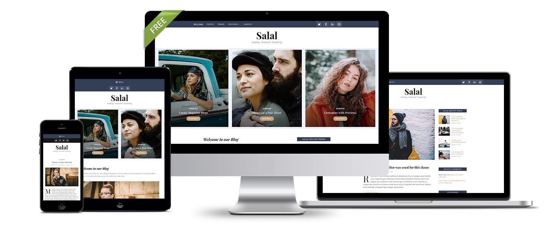 Free Salal Theme