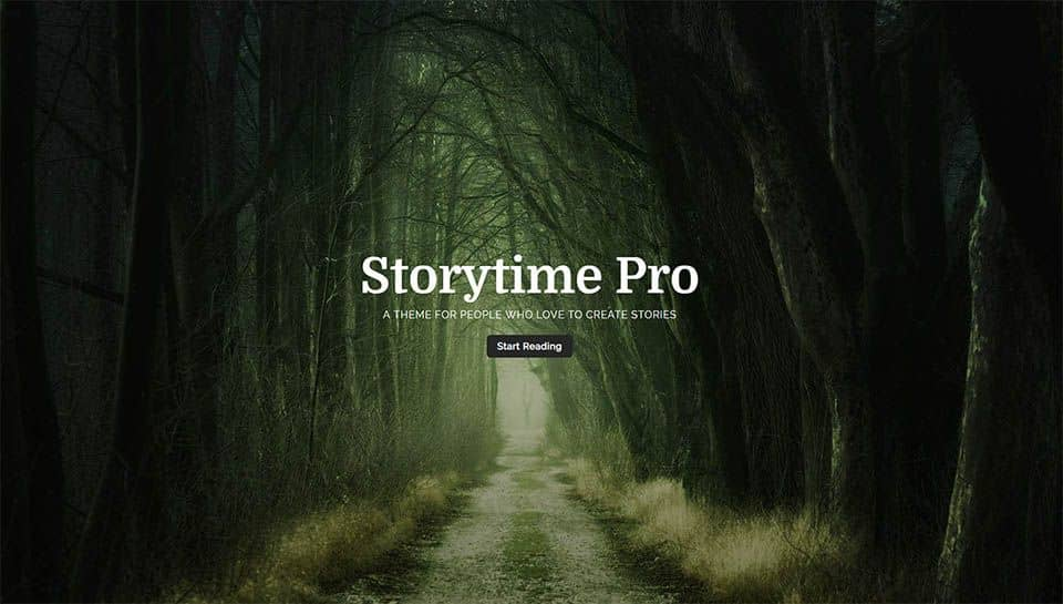 Storytime Pro splash page