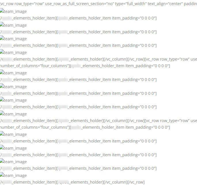 Test after disabling page builder